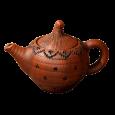 Чайник Клубничка / глазурь / - Глиняные, гончарные изделия - ООО Гончар