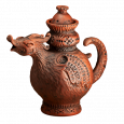 Чайник Дракон / глазурь / - Глиняные, гончарные изделия - ООО Гончар