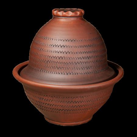 Жаровня для курицы (глазурь) - Глиняные, гончарные изделия - ООО Гончар